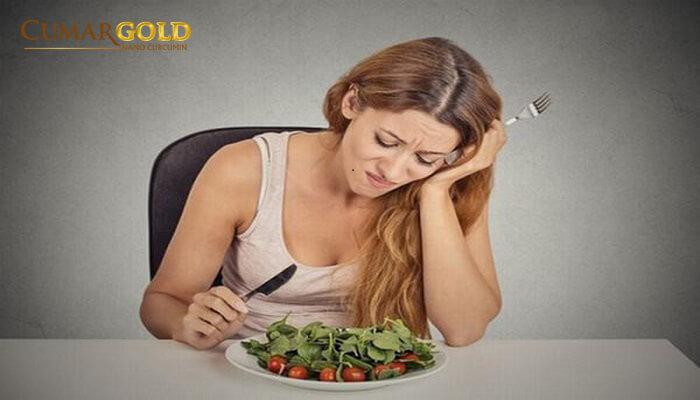 Dạ dày khó chịu khiến người bệnh không còn muốn ăn