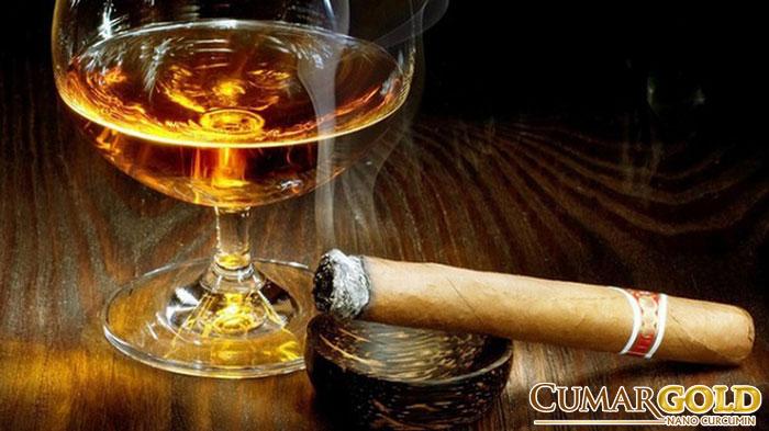 Rượu, bia, khói thuốc lá