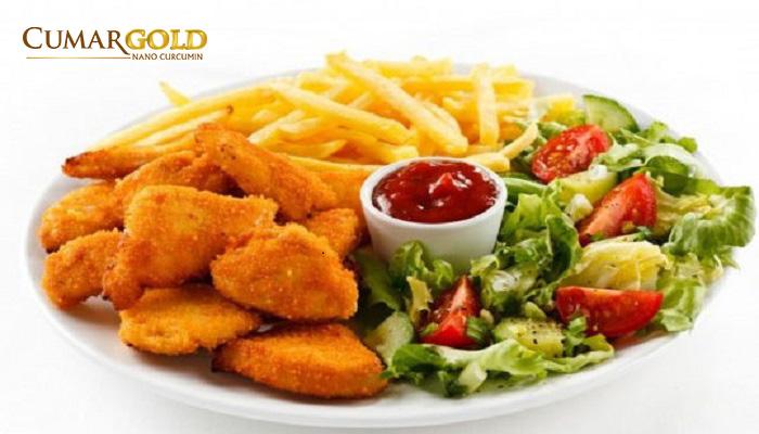 Thức ăn nhiều dầu mỡ