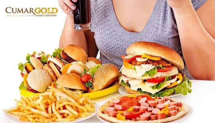 Ăn thức ăn nhiều dầu mỡ