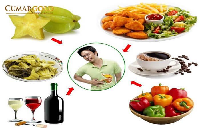 Những loại thực phẩm nên tránh