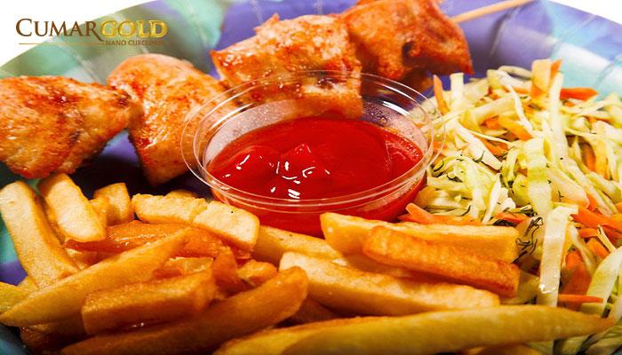 Tránh xa thưc ăn chứa nhiều dầu mỡ