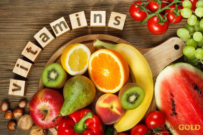 Bổ sung thêm các nhóm vitamin cho người bệnh