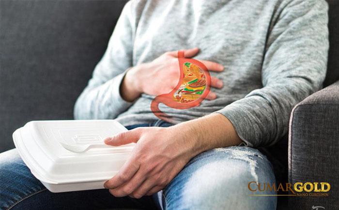 Đầy hơi sau khi ăn là triệu chứng kèm theo chướng bụng