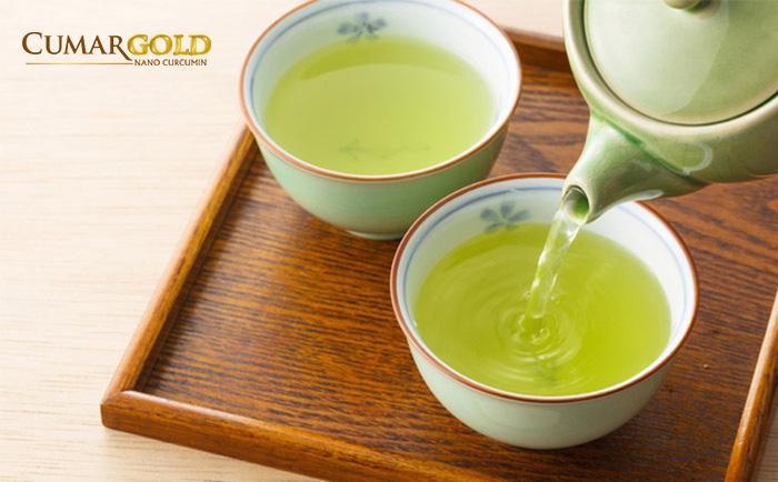 Nước trà xanh có tác dụng giảm đau dạ dày nhanh