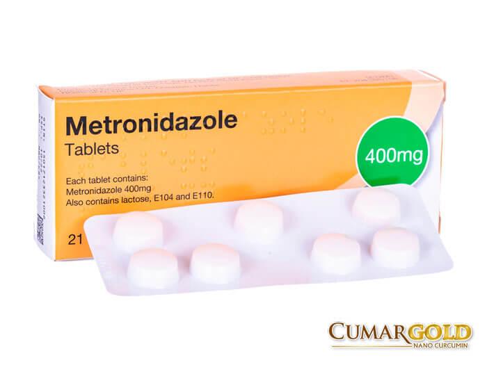 Hộp thuốc Metronidazole