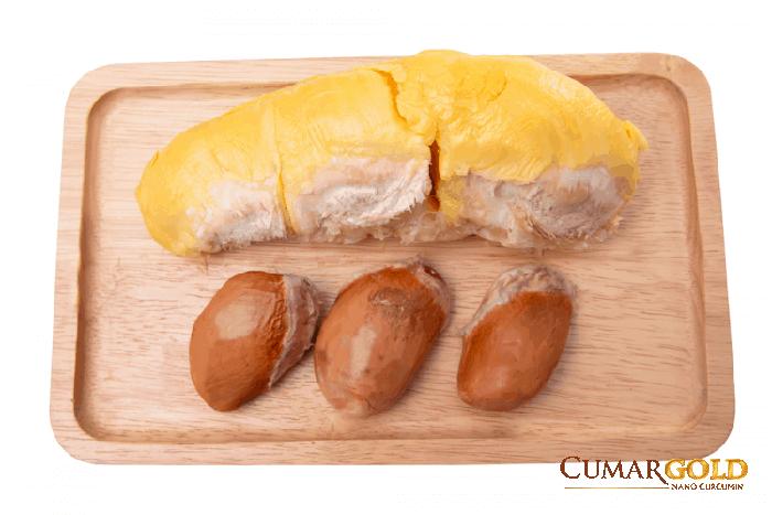 Cách dùng hạt sầu riêng chữa đau dạ dày