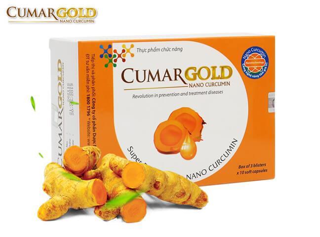 Hỗ trợ trị đau dạ dày với CumarGold