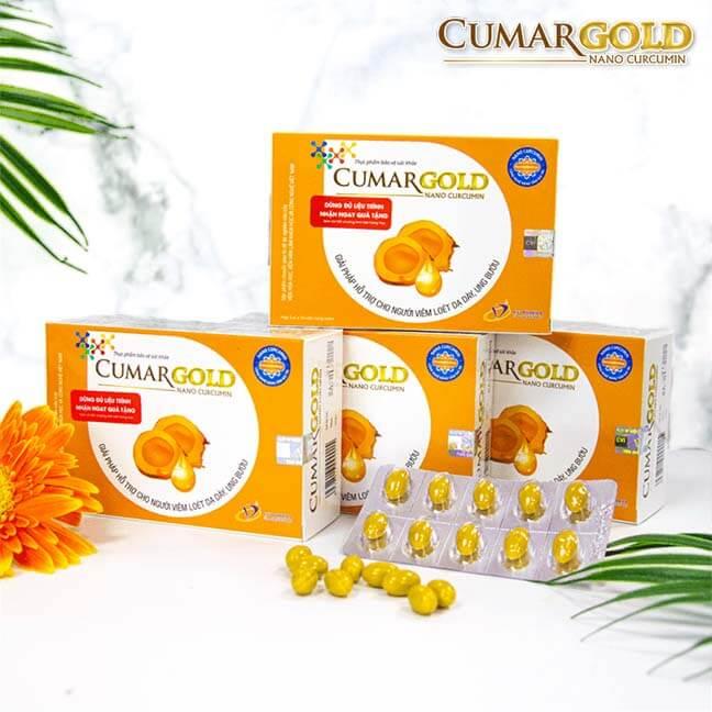 CumarGold hỗ trợ điều trị viêm dạ dày