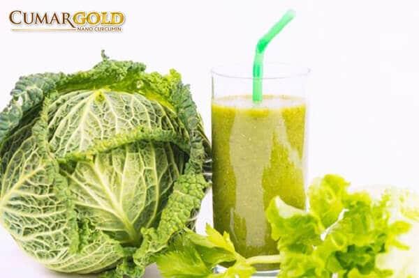 Nước ép bắp cải tốt cho người bị đau dạ dày