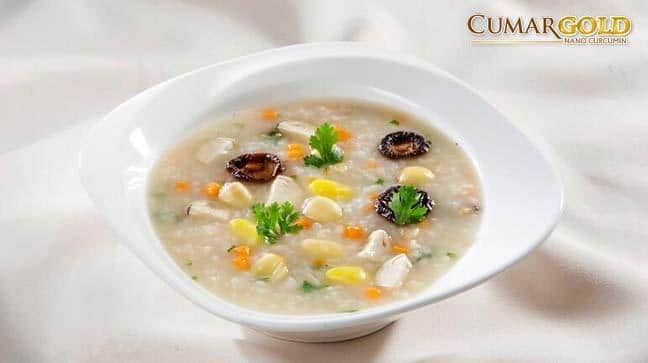 Cháo hạt sen là món ăn ngon không thể thiếu trong thực đơn cho người đau dạ dày