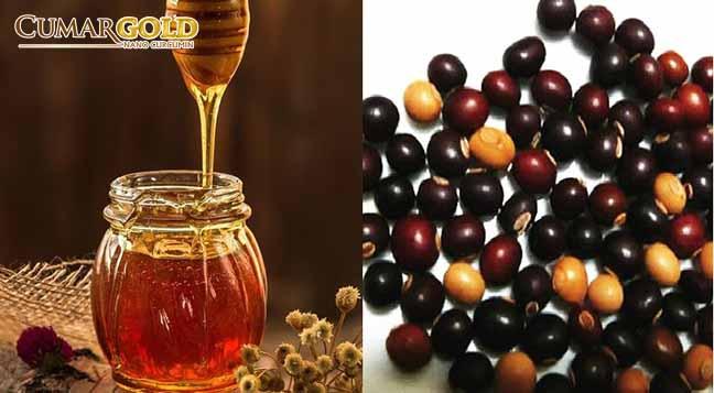 Dân gian thường kết hợp mật ong với hạt đậu rồng chữa bệnh đau dạ dày