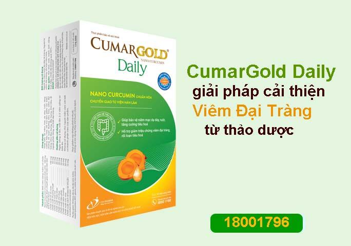 Sử dụng sản phẩm CumarGold Daily – giải pháp cải thiện viêm đại tràng từ thảo dược