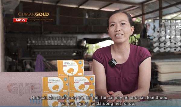 CumarGold New giúp chị Phương lấy lại sức khỏe