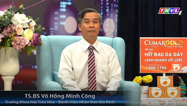TS. BS Võ Hồng Minh Công - Trưởng khoa nội tiêu hóa, Bệnh viện Nhân dân Gia Định