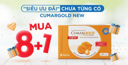 Siêu ưu đãi chưa từng có từ CumarGold New: MUA 8 TẶNG 1